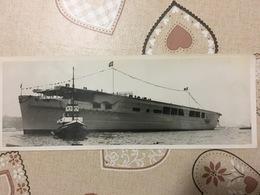 """Foto Propaganda Kriegsmarine Portaerei""""Graf Zeppelin"""" - Barche"""