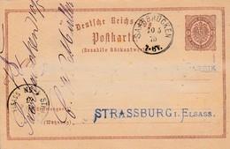 EP Michel P 1  Obl SAARBRÜCKEN Du 10.5.75 Adressé à Strassburg - Allemagne