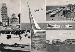 Pisa - Saluti Da Marina Di Pisa - Fg - Pisa