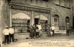 FRANCE - Carte Postale - St Leonard De Noblat - Maison Petitjean - Pâtisserie Confiserie - L 29982 - Saint Leonard De Noblat