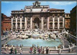 °°° Cartolina N. 154 Roma Fontana Di Trevi Viaggiata °°° - Roma (Rome)