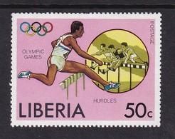 Liberia 1976, Sports, Minr 995, MNH - Liberia