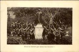 SCOUTISME - Carte Postale - Vive Le Christ Qui Aime Les Scouts ! - L 29983 - Padvinderij