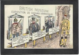 CPA Kaiser Allemagne Germany Caricature Satirique Patriotique écrite Angleterre - Guerre 1914-18
