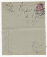 Austria Slovenia Postal Stationery Letter Card Travelled 1903 Ljubljana To St. Stefan Am Gratkorn B190601 - Slovenia