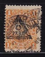 Peru 1883, Overprint, Minr 52, Vfu - Peru