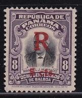 Panama 1916, Overprint, Minr 100, Vfu - Panama