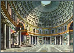 °°° Cartolina N. 155 Roma Interno Del Pantheon Viaggiata °°° - Roma (Rome)