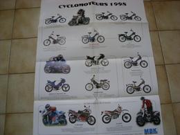 Poster Motobécane Mbk - Publicités