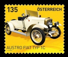 Austria 2019 Mih. 3444 Automobile Austro Fiat Typ 1C MNH ** - 1945-.... 2. Republik