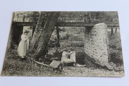 Lavandieres - Laveuses 1906 Cpa - France