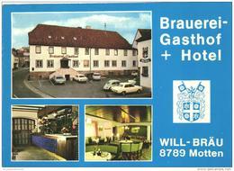 Motten / Lkr. Bad Kissingen / Gasthaus Will-Bräu / Sehr Schöne Doppel-Klapp-Karte (D-KW119) - Bad Kissingen
