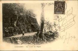 GUINÉE - Carte Postale - Konakry - La Route Du Niger -  L 30000 - Guinée Française