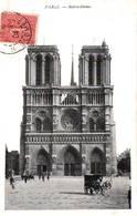 CPA - PARIS - CATHEDRALE N.DAME - Le Parvis - Notre Dame De Paris