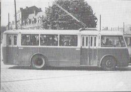 TRANSPORT TRAMWAY ET TROLLEYBUS DE SAINT-ETIENNE 42 LOIRE 2/07 LIGNE SOLEIL RASPAIL TROLLEYBUS VETRA CB 45 - Tram