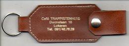 Lokeren Café Trappistenhuis Sleutelhanger Porte Clef Porte  Cle Keyholder Schusselhanger Reclame - Porte-clefs
