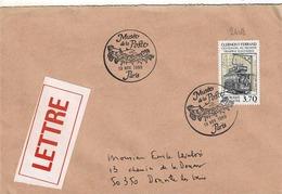 TP N ° 2608 Seul Sur Enveloppe Avec Cachet Du Musée De La Poste - Poststempel (Briefe)