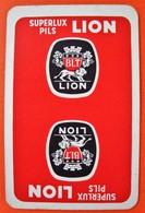 Une Carte à Jouer. Superlux Pils . Brasserie Lion . Tournai. - Barajas De Naipe