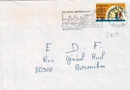 TP N ° 2613 Seul Sur Enveloppe De Avranches - 1961-....