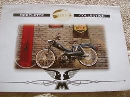 Mobylette Collection Mbk - Motobécane - Publicités