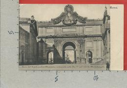 CARTOLINA NV ITALIA - ROMA - Porta Del Popolo Antica Flaminia Restaurata Sotto Pio IV Nel 1561 - 9 X 14 - Roma (Rome)