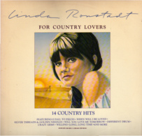 * LP *  LINDA RONSTADT - FOR COUNTRY LOVERS (USA 1981 EX) - Country & Folk