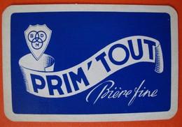Une Carte à Jouer. Prim'Tout . Brasserie De Maison. Saint-Gérard. - Sin Clasificación