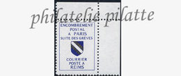-France Grève 39** - Strike Stamps