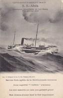 Campagne D'Orient 1914-189 - S. S. Abda - Croiseur Auxiliaire De 1er Rang Par Grosse Mer - Barche