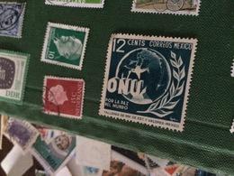 MESSICO ONU NAZIONI UNITE - Francobolli