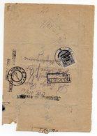 Poland Ukraine Registered Lwow Zamarstynow Postage Due 1923 - 1919-1939 Republic