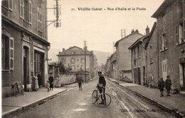 VIZILLE - Rue D' Italie Et La Poste (544 ASO) - Vizille
