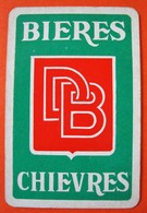Une Carte à Jouer. Brasserie Declercq-Breda. Chièvres. - Barajas De Naipe