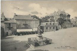 Lozere : Mende, La Place Urbain V - Mende