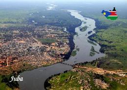 South Sudan Juba White Nile Aerial View New Postcard Südsudan AK - Postcards