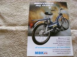 Mbk 51 - Motobécane - Publicités
