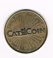 //  PENNING  CAT COIN - NO CASH VALUE - Professionnels/De Société