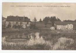 25 Doubs - Labergement Ste Marie L'abbaye Sainte Et L'hotel Du Pont Ed Clb Besançon 33270 - France