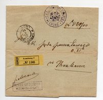 Poland UkraineRegistered  Lwow Lemberg Wafer 1910 - ....-1919 Provisional Government