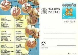 Tarjeta Postal, Cartolina Postale, Post Card Espana 82, Mondiali Calcio In Spagna - Altri