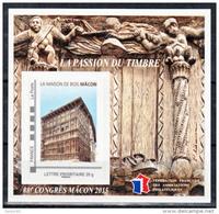France BF 10 FFAP 88 ème Congrès De Macon 2015 Neufs ** LUXE MNH Sin Charnela - FFAP