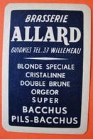 Une Carte à Jouer. Brasserie Allard. Guignies. - Sin Clasificación