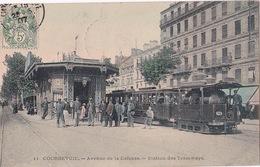 COURBEVOIE (92) - Avenue De La Défense - Marmuse 11 - 1907 - Courbevoie