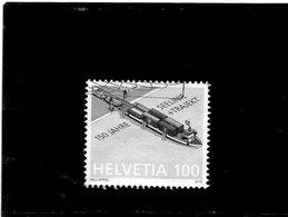 2019 Svizzera - 150 Anni Del Traghetto Lacustre - Usati