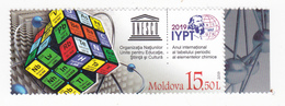 "2019 , Moldova  Moldavie  UNESCO  UN ""2019 – International Year Of The Periodic Table Of Chemical Elements"", MNH - Moldova"