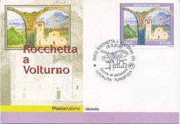 ITALIA - FDC MAXIMUM CARD 2005 - TURISMO - ROCCHETTA A VOLTURNO - ANNULLO SPECIALE - Cartoline Maximum