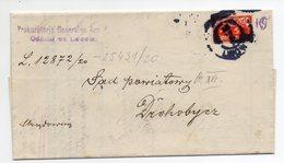 Poland Lemberg Lwow Wafer 1920 - 1919-1939 Republic