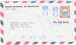NICARAGUA AIRMAIL COVER 1960 - Nicaragua