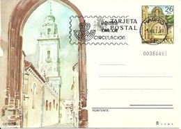 """Tarjeta Postal, Lugo (Galizia, Spagna) Catedral, Cathedral, Annullo """"Primer Dia De Circulation"""" - Lugo"""