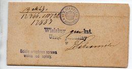 Poland Ukraina Dobromil 1915 - Storia Postale